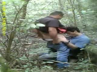 hot sex gay in the forest