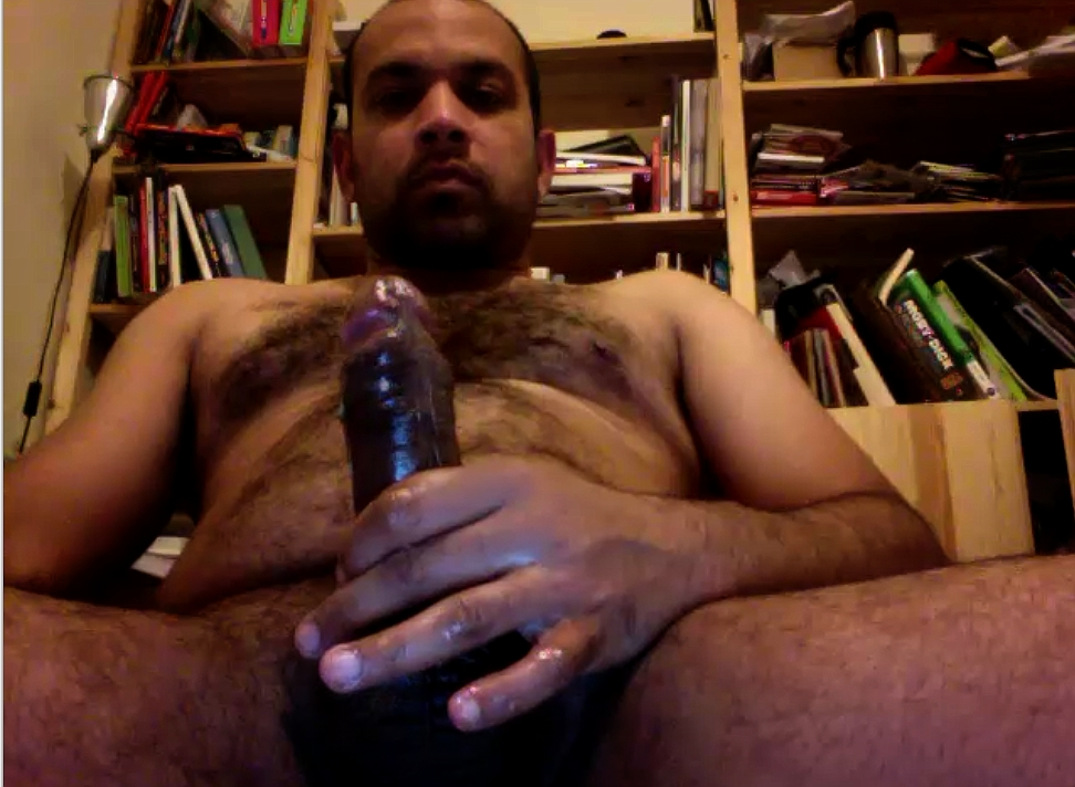 Mature Indian Gay jerking