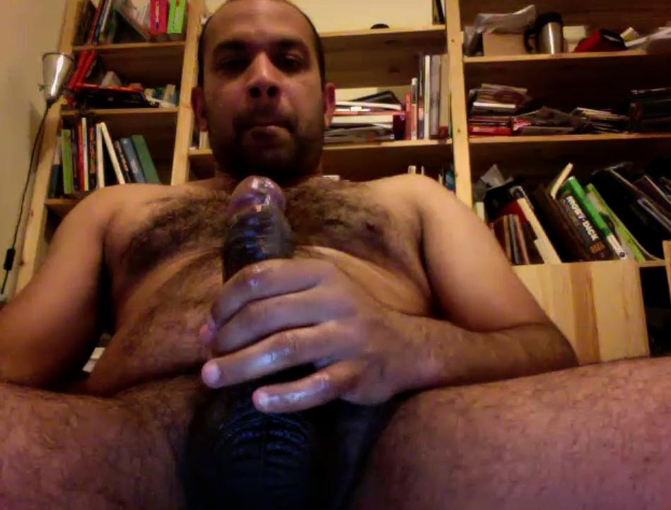 Mature Indian Gay jerking