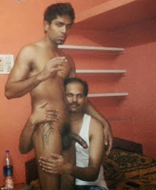 Indian Dick Cumming On White Guy