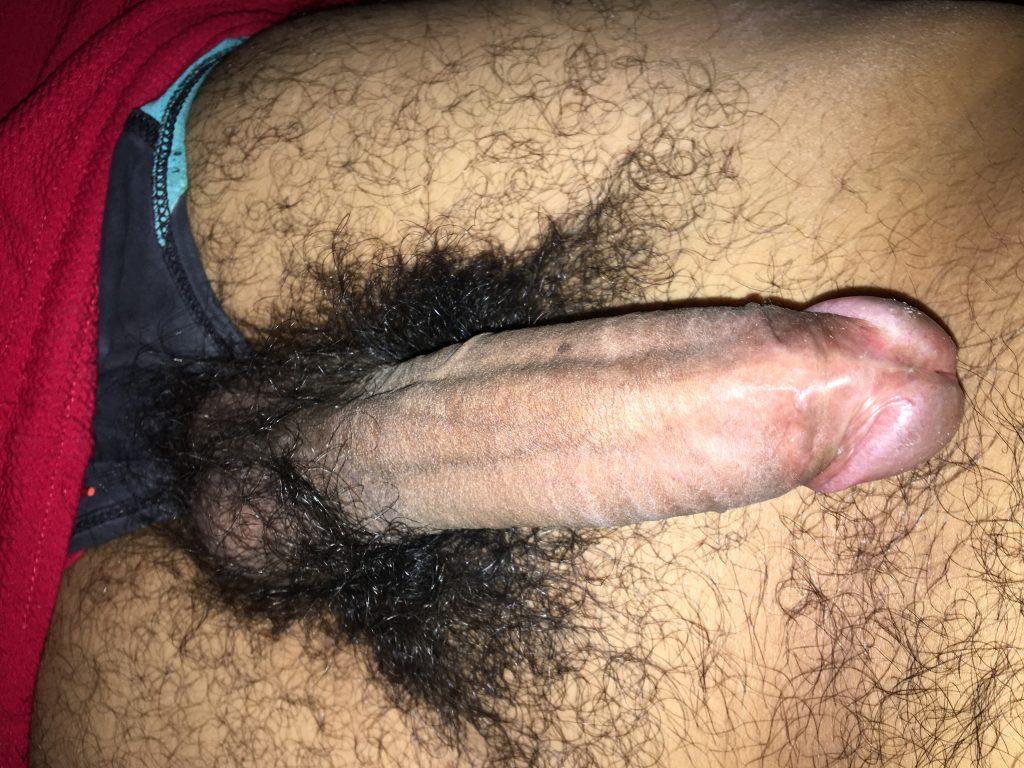 Hairy cock shaft