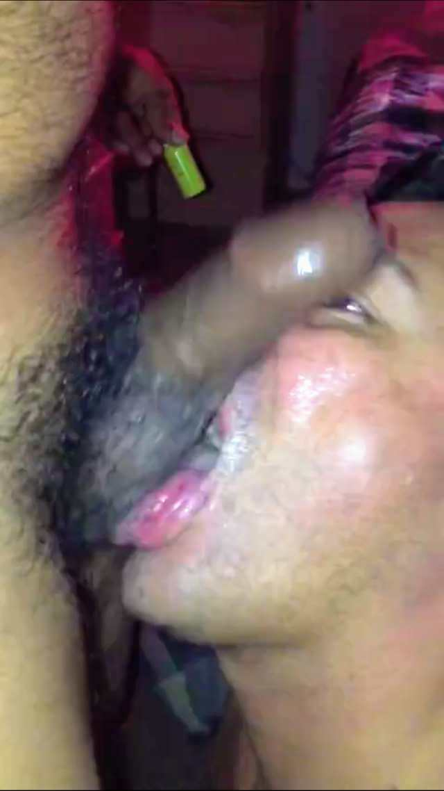 Amateur gay blowjob video