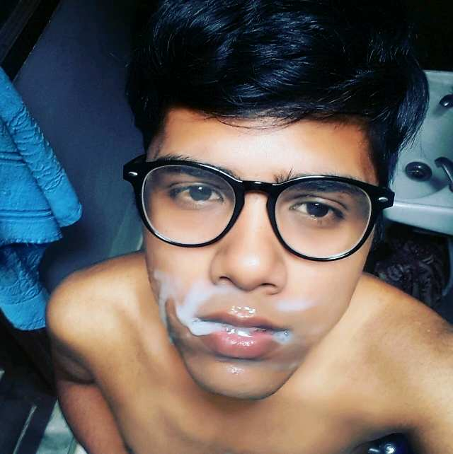 Indian Gay Porn: Slutty submissive desi twink enjoys a BDSM fuck session