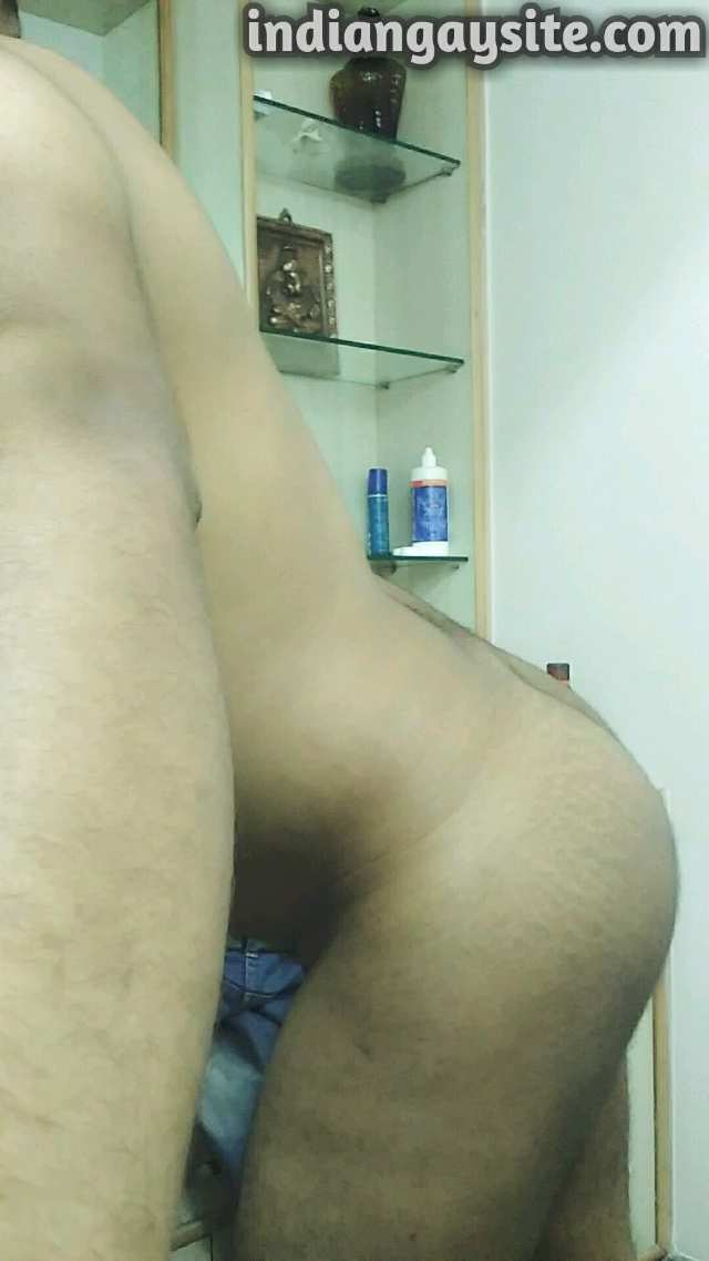 Indian Gay Porn: Sexy desi bottom showing off his hot body and bubbly ass: 2