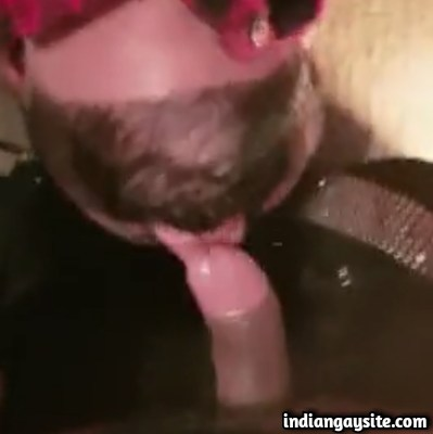 Desi Gay Hunk Sucked & Fucked by White Bear