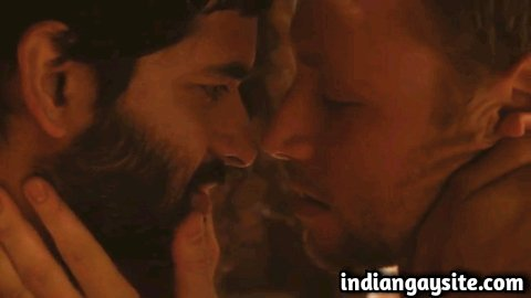 Movie gay sex scene of Purab Kohli's gay kissing scene with Max Riemelt from Sense8 finale orgy