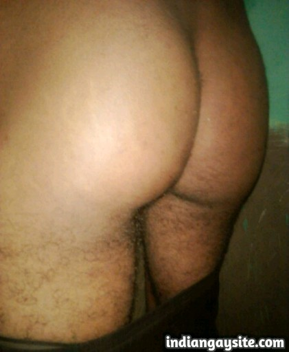 Indian Gay Porn: Sexy desi twink showing off his hot ass and body like a slut
