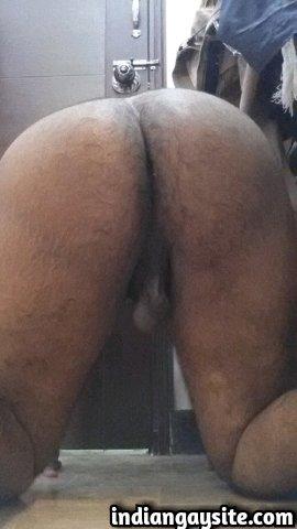 Pakistani Gay Porn: Horny and slutty Paki bottom exposing his hot body and big ass