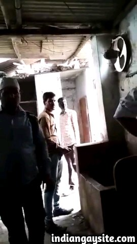 Indian gay video of a horny desi hunk jerking off his big cock in a public toilet and cruising for horny men