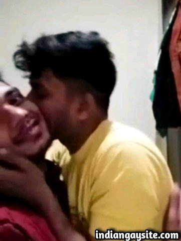 Desi gay video of two horny and sexy Indian gay boys making out wildly and having fun