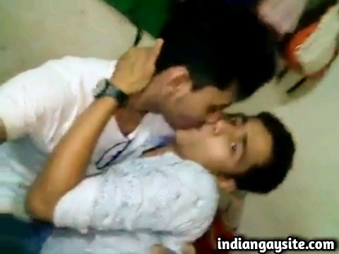 Indian gay video of two horny and wild young desi twinks making out on cam