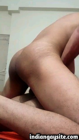 Indian gay sex video of a horny and wild fucker from Mumbai fucking a slutty naval officer hard: 3