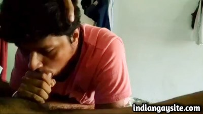 Gay blowjob video of a deep throat cock sucker - Indian Gay Site