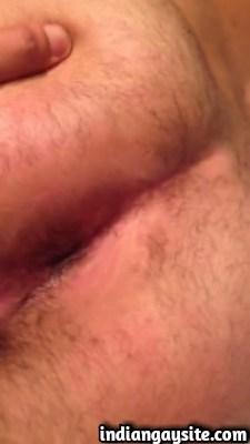 Desi gay video of white guy fingering Punjabi ass