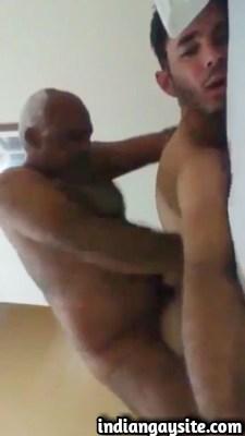 Gay sex video of desi daddy fucking twink