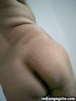 Gay ass pics of a horny and slutty desi bottom