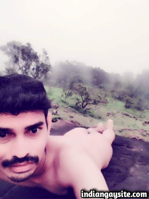 Indian Gay Porn feat a Slutty Naked Hunk Outdoor