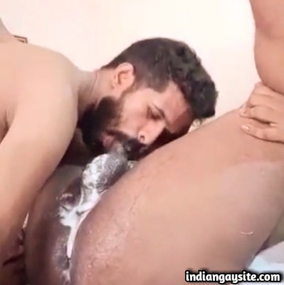 Indian Gay Blowjob Video of Icecream Suck & Rim