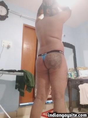 Desi Gay Porn feat. a Horny Bottom's Bubbly Ass