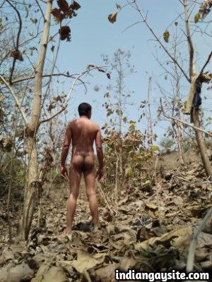 Naked Indian Hunk having an Outdoor Photoshoot