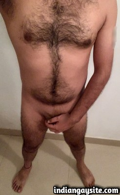 Desi Gay Porn feat. Hot & Hairy Naked Hunk