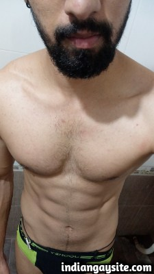 Sexy Indian Hunk from Bangalore shows Big Cock