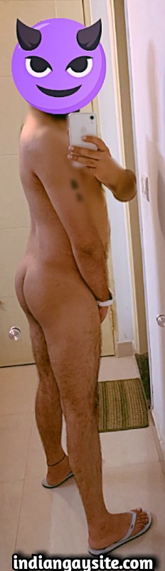 Sexy Indian Hunk shows Amazing Hairy Body & Ass