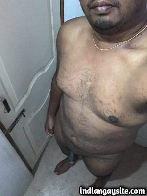 Desi Gay Porn feat. Horny Naked Chubby Guy