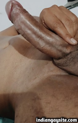 Sexy Indian Hunk Exposing All Assets Naked