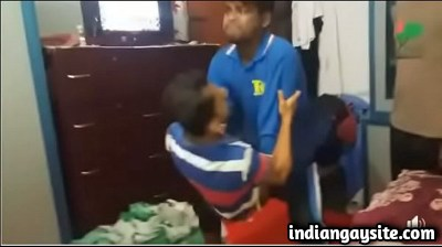Horny Indian Guys Humping their Friend in Hostel