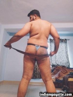 Indian Gay Porn feat. Horny & Slutty Bottom's Butt