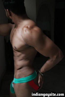 Indian Gay Porn feat. Sexy Hunk in Jockstraps