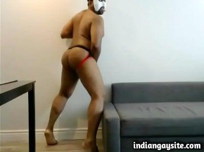 Indian Gay Porn Video of Slutty Dancer in Jockstraps