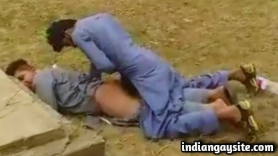 Pathan Twinks Fucking Outdoor in Pakistani Gay Sex Video