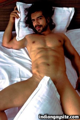 Naked Indian Hunk in a Steamy Hot Photoshoot
