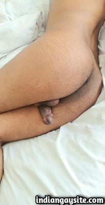 Indian Gay Porn Pics of Horny Twinky Bottom's Hot Ass