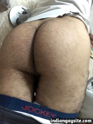 Sexy Indian Twink Shows Big Cut Dick & Hairy Ass