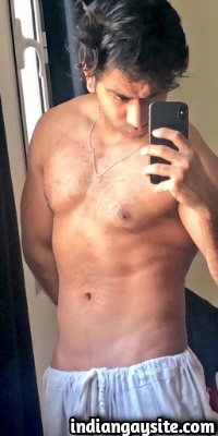 Naked Pakistani Hunk Shows Hot Body in Briefs