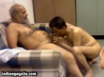 Desi Gay Blowjob Video of Horny Daddies Enjoying