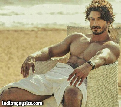 Indian Gay Erotica of Fantasy Fuck with Vidyut Jamwal