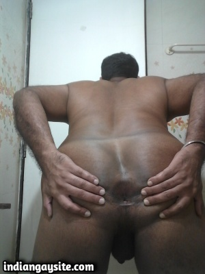 Naked Indian Bottom Shows Ass Ready for a Fucking