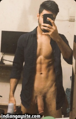 Naked Pakistani Hunk with Thick Dick