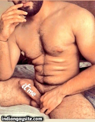 Muscular Indian Hunk Shows Hunky Smooth Body & Big Cock