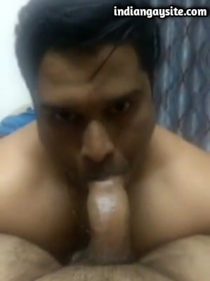 Desi Gay Porn Video of Wild Cock Sucker's Fingering