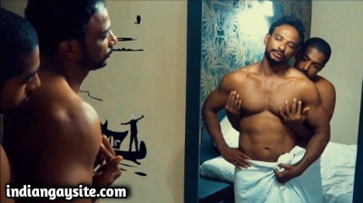 Gay Men XXX Clip of Charan Bhangaram's Muscle Worship