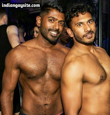 Indian Muscular Hunks Kissing Naked & Showing Body