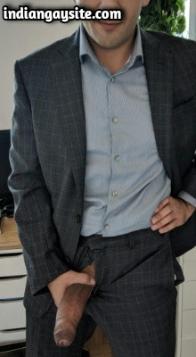 Big Indian Lund of Hot & Sexy Boss in Suit