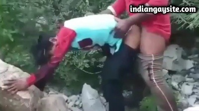 Outdoor Gay Video of Horny Men Fucking Wildly