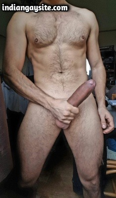 Big Dick Gay Porn of Super Hot Naked Indian Stud