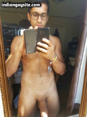 Big Dick Gay Porn of Super Hot Naked Indian Stud